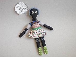 Hračky - Gombíková bábika Farida - 9560906_