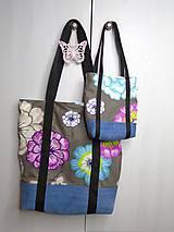 Nákupné tašky - Eko nákupná taška: Mama a dcéra - 9560636_