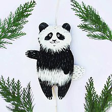 Hračky - Pohyblivá hračka - Medviedik čistotný (Panda) - 9562485_