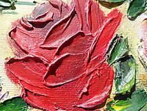 Obrazy - Ruže biele a červené - 9562791_