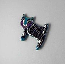 Odznaky/Brošne - Tana šperky - keramika/platina - 9560232_