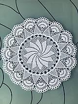 """Úžitkový textil - Čipka """"Kvet"""" - 9562378_"""