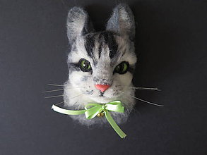Magnetky - Magnetka- mačka - 9561205_