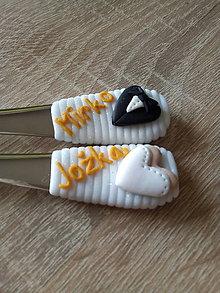 Pomôcky - Svadobné polievkové lyžice - 9560094_