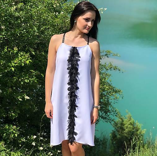 Letné šaty s 3D kvetmi   Mellien.design - SAShE.sk - Handmade Šaty 09283a0269a