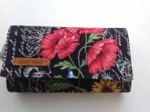 61f1507274 ... Peňaženky - Peňaženka - rozkvitnutá záhrada s kľúčenkou - 9559829  ...