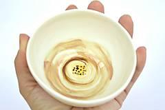 Nádoby - Porcelánová miska Staroružová - 9561069_