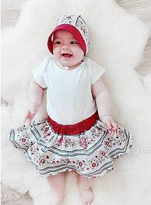 Detské oblečenie - Detská sukňa Folk - 9560936_