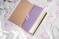 """Papiernictvo - Vymeniteľný zápisník """"floral"""" - 9561634_"""