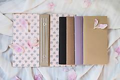 """Papiernictvo - Vymeniteľný zápisník """"floral"""" - 9561642_"""
