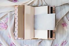 """Papiernictvo - Vymeniteľný zápisník """"floral"""" - 9561650_"""