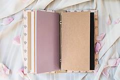 """Papiernictvo - Vymeniteľný zápisník """"floral"""" - 9561654_"""
