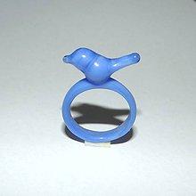 Prstene - Sklenený prsteň - 9562083_