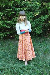 """Detské oblečenie - Sukňa """"Najdlhšia a najtočivešia"""" - 9562216_"""