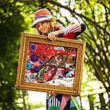 Obrazy - Origo obrazec IngK...čary mary textil - limit - 9563031_