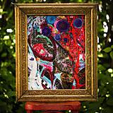 Obrazy - Origo obrazec IngK...čary mary textil - limit - 9563032_