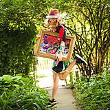 Obrazy - Origo obrazec IngK...čary mary textil - limit - 9563033_