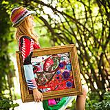 Obrazy - Origo obrazec IngK...čary mary textil - limit - 9563035_