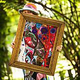 Obrazy - Origo obrazec IngK...čary mary textil - limit - 9563036_