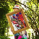 Obrazy - Origo obrazec IngK...čary mary textil - limit - 9563037_