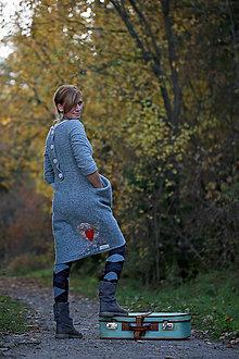 Šaty - ...šaty z ovčej vlny... - 9561812_
