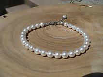 - náramok z perál z mušlí -chirurgická oceľ - 9560812_