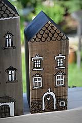 Dekorácie - Domčeky z malého mestečka I. - 9562960_