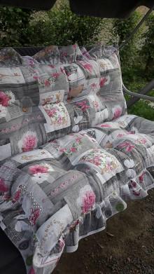 Úžitkový textil - Podsedaky na hojdacku - 9565112_