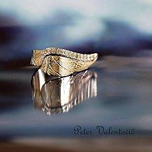 Prstene - Anjelske krídlo - 9563833_