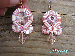 Náušnice - Simple...soutache - 9567432_