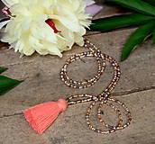 - Tropica náhrdelník-marhuľový strapček - 9565865_