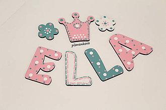 Detské doplnky - ELLA ružovo mentovová princezná - 9567524_