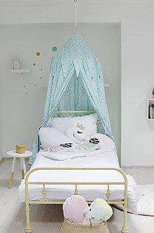 Textil - Mentolkový baldachýn - 9567679_
