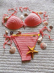 Bielizeň/Plavky - plažový set ♥ - 9565196_