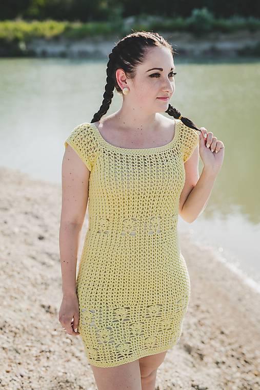 a38fed85a98e Háčkované letné šaty   Petri.design - SAShE.sk - Handmade Šaty