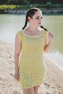 Šaty - Háčkované letné šaty - 9566304_