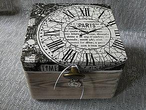 Krabičky - Krabička TIME PARIS - 9567033_