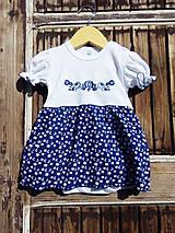 Detské oblečenie - Folk - body -šaty (92) - 9564349_