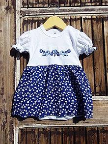 Detské oblečenie - Folk - body -šaty - 9564349_