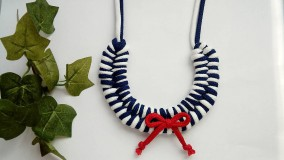 Uzlový náhrdelník - Námorníčka