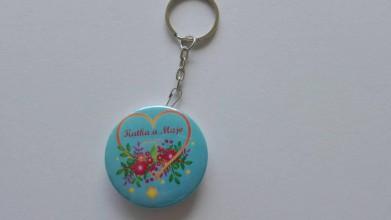 Kľúčenky - Prívesok otvarák pre svadobčanov - 9567017_