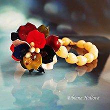 Náhrdelníky - Letom s kvetom - 9564381_