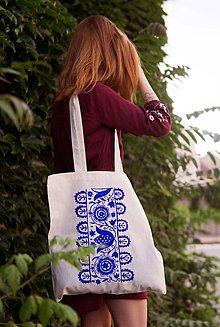 Nákupné tašky - Nákupná taška modrô - 9566032_