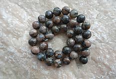 Minerály - Opál modrohnedý 10mm - 9567458_