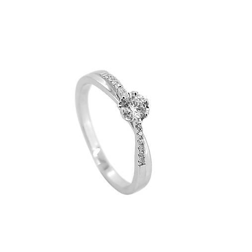 90ff408d5 Briliantový prsteň XIII / GoldHands - SAShE.sk - Handmade Prstene