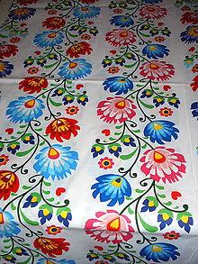 Úžitkový textil - obrus na okrúhly stôl  140cm - 9564153_