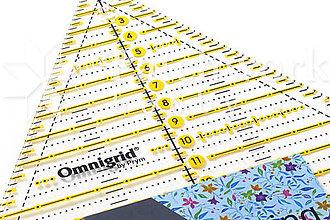 Pomôcky/Nástroje - Pravítko Omnigrid trojuholník 20 cm 60º - 9566395_
