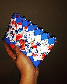 Peňaženky - Mini blue - 9565460_