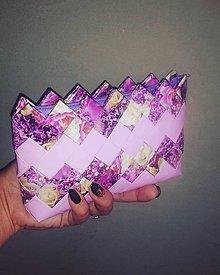 Peňaženky - Lilac mini - 9565486_