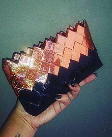 Peňaženky - Bronze mini - 9565532_